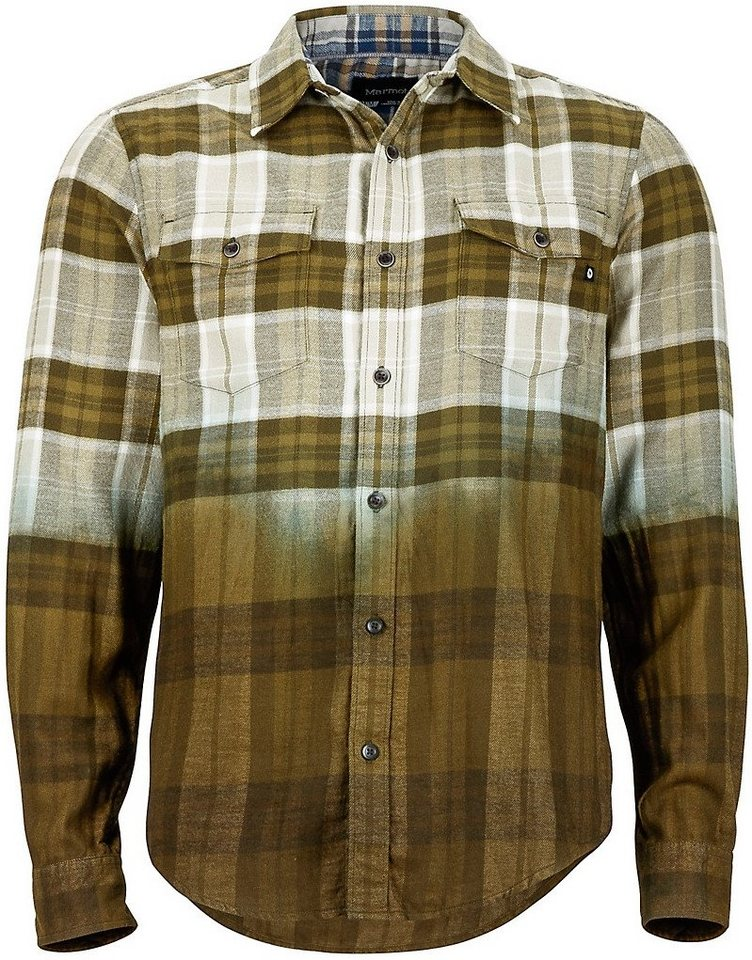 Marmot Hemd »Dillion Flannel LS Men« in grün