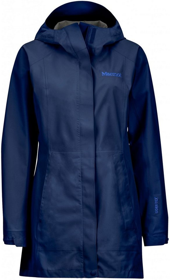 Marmot Regenjacke »Essential Jacket Women« in blau