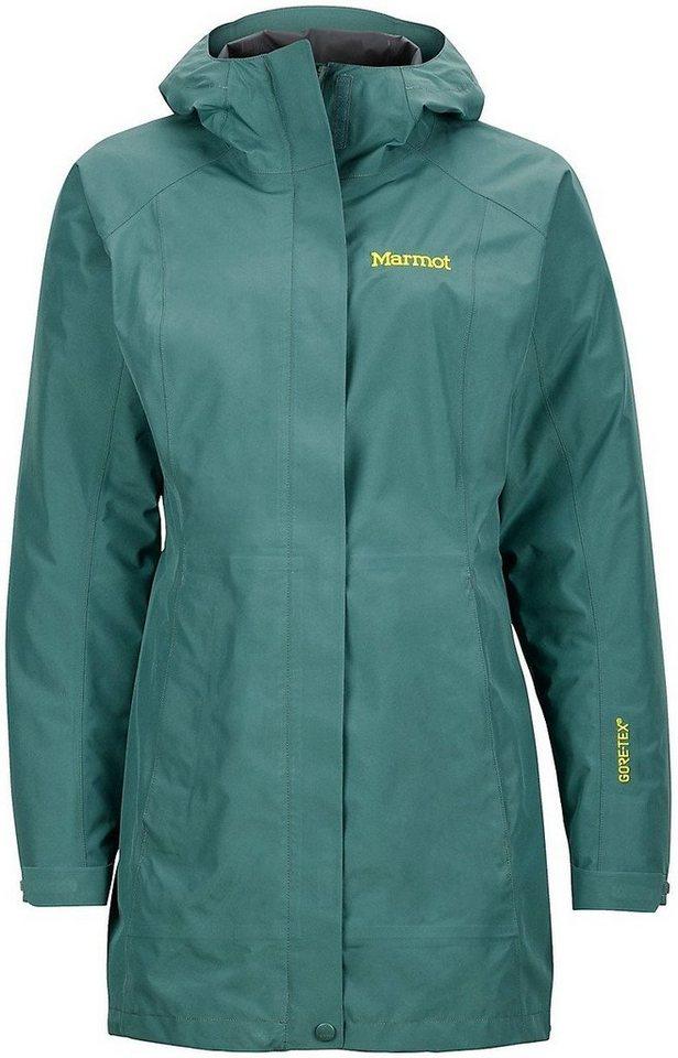 Marmot Regenjacke »Essential Jacket Women« in grün