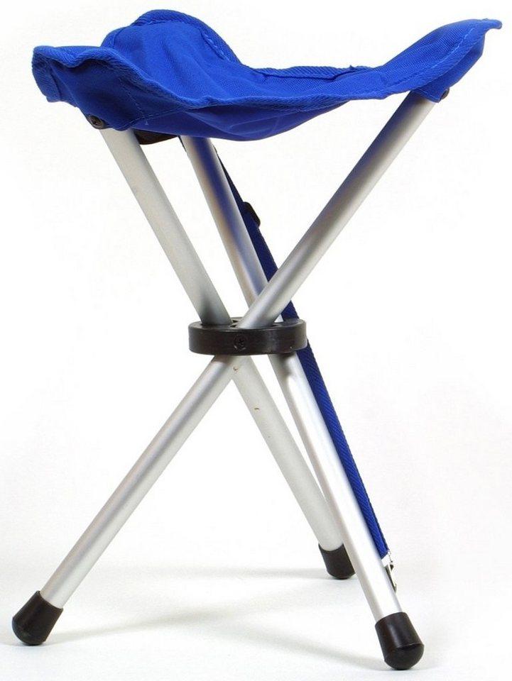 Coghlans Camping-Stuhl »Dreibeinhocker« in weiß