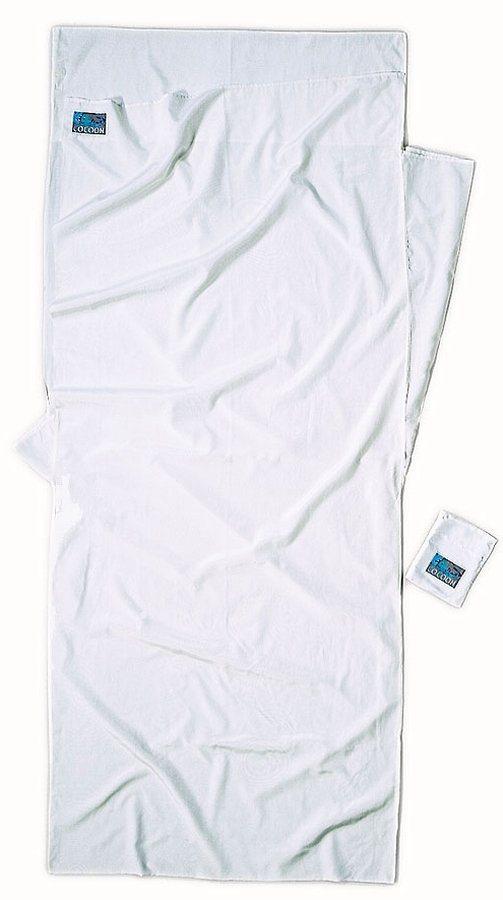 Cocoon Schlafsack »TravelSheet Inlet Silk Cotton« in weiß