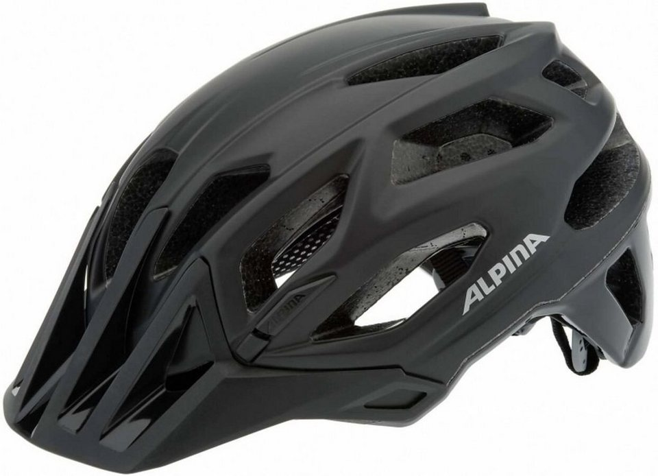 Alpina Fahrradhelm »Garbanzo Helm black« in schwarz