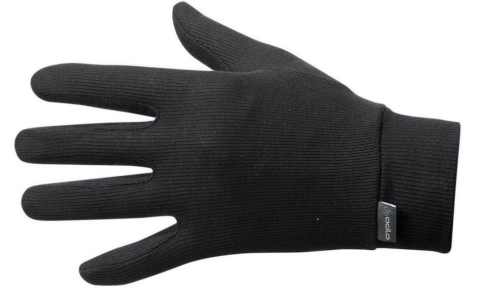 Odlo Handschuhe »Warm Gloves« in schwarz