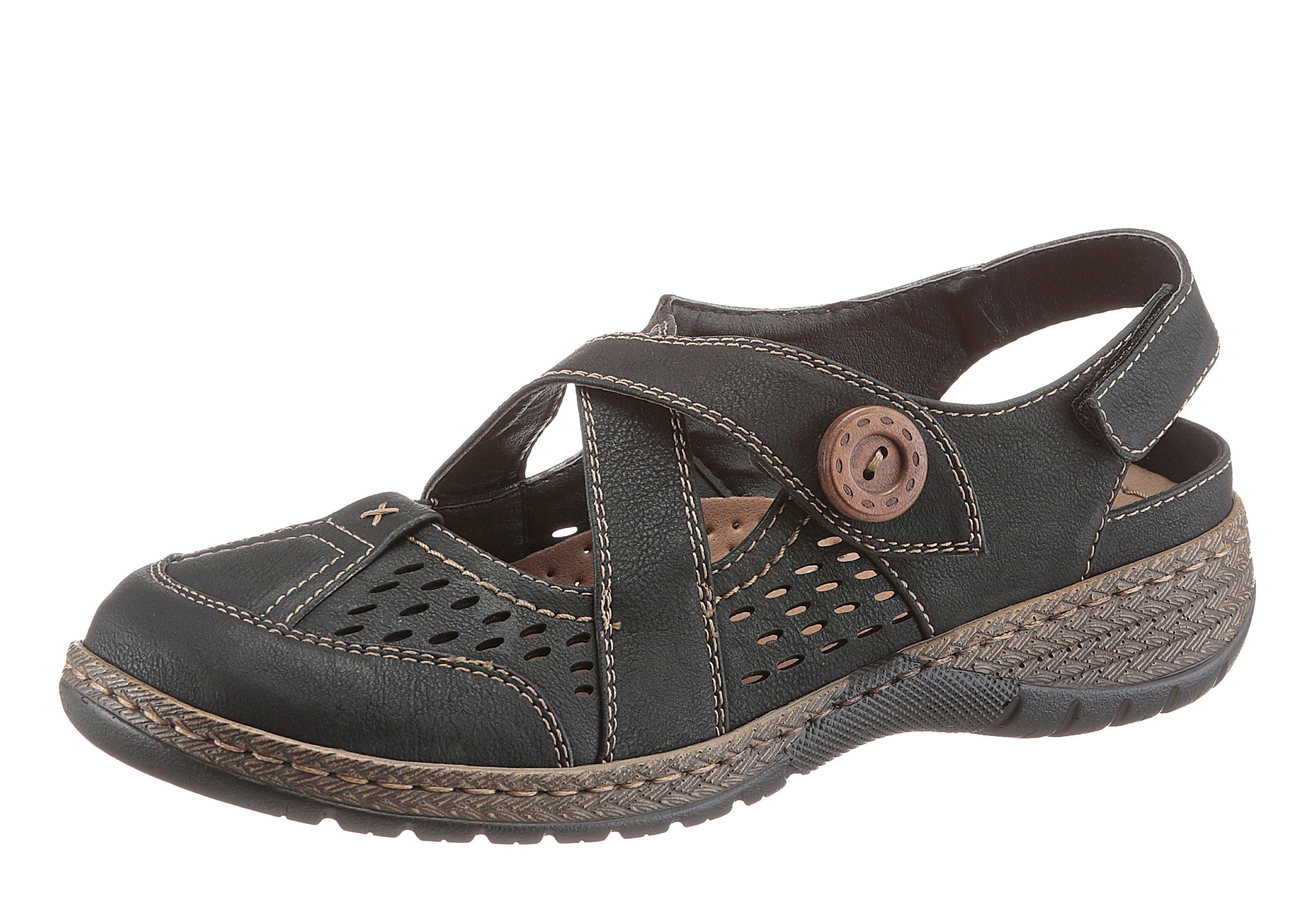 Supremo Slipper, mit Gummizug online kaufen  schwarz