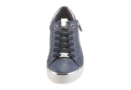 Tom Tailor Sneaker, mit trendigem Metallicapplikationen
