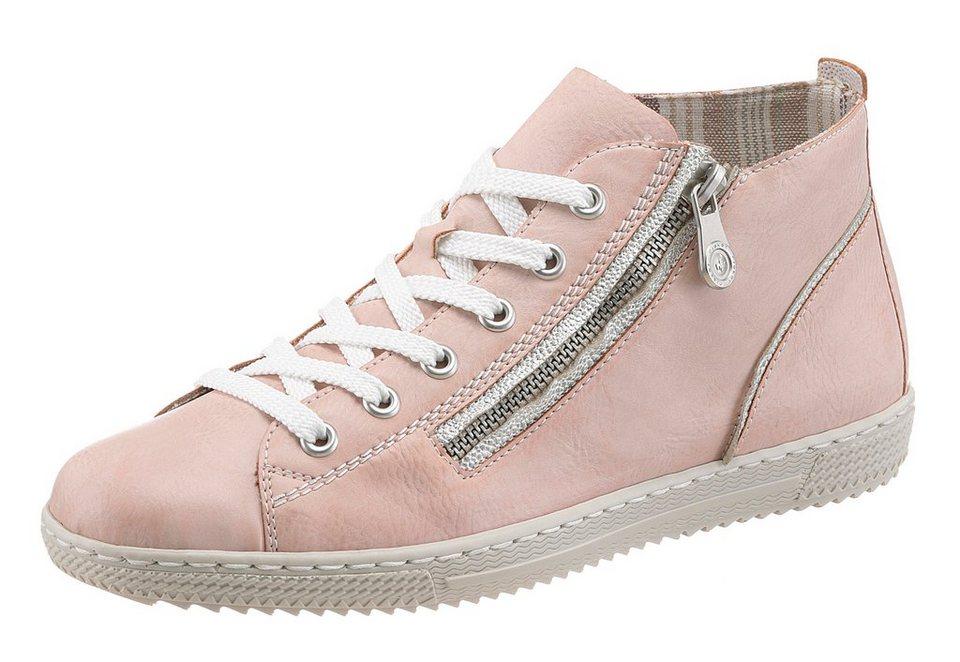 Rieker Sneaker in rosé-silberfarben