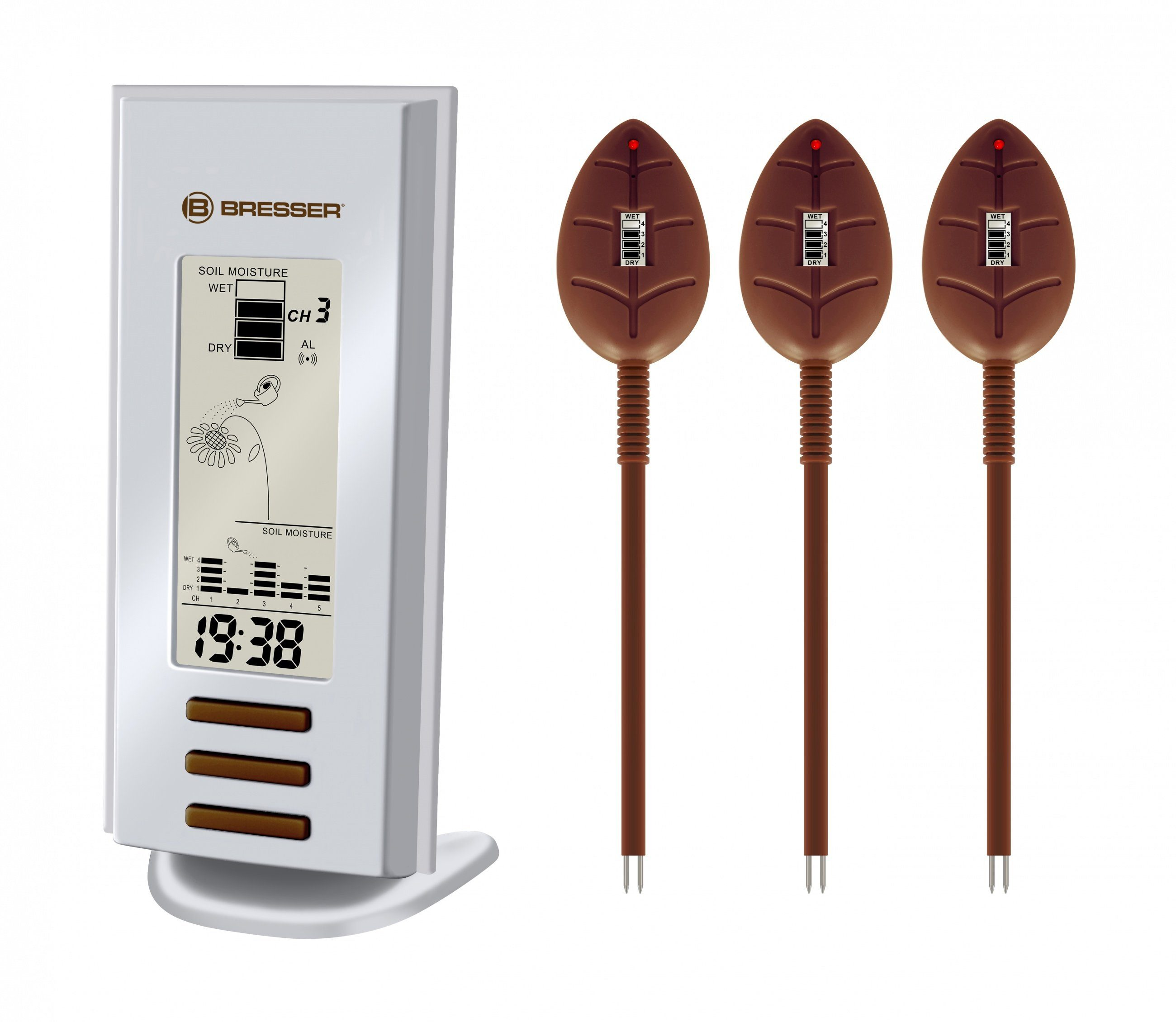 BRESSER Gießmelder »BRESSER Gießmelder mit 3 Sensoren«