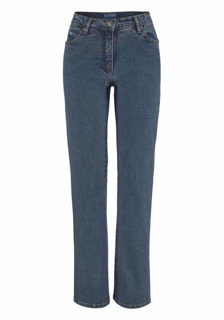 Hosen - Arizona Gerade Jeans »Annett« High Waist › blau  - Onlineshop OTTO