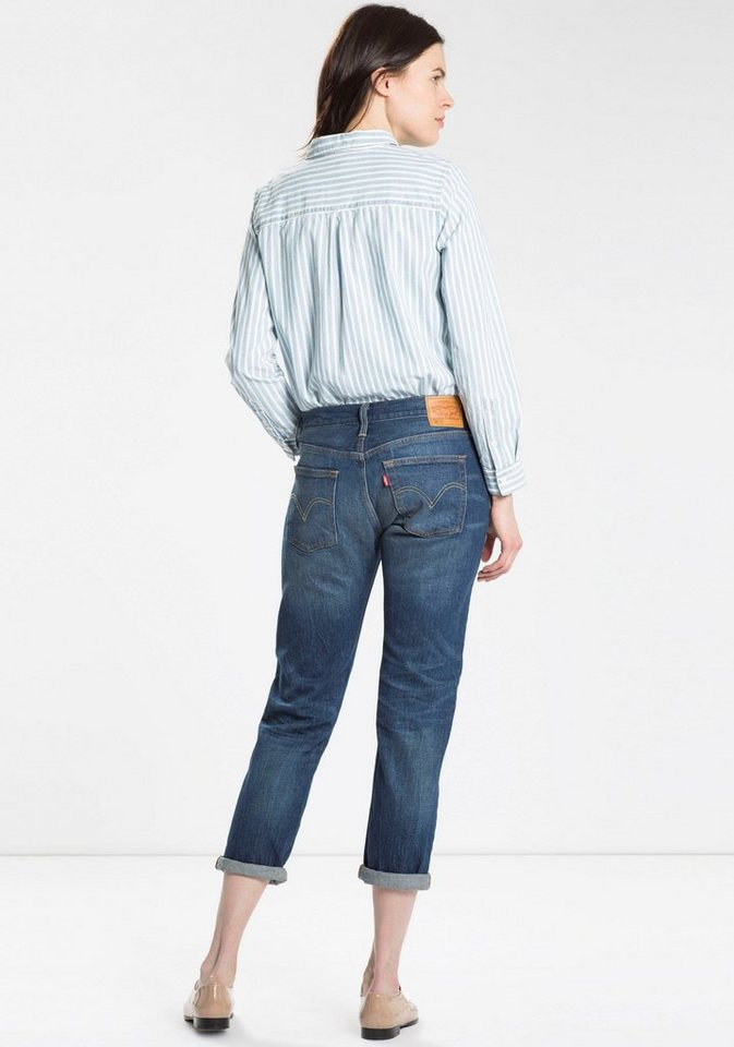 Levi's® Boyfriend-Jeans in blue-used