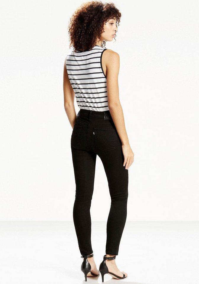 Levi's® Slim-fit-Jeans »LEVI'S® 721« in schwarz