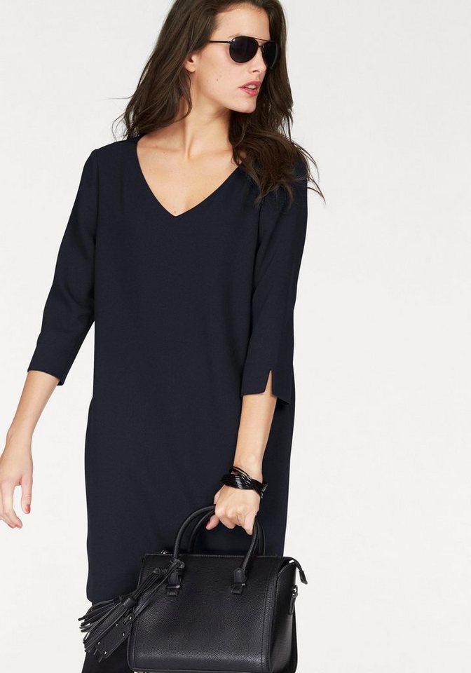 Vivance Abendkleid mit interessanter Rückenverarbeitung in dunkelblau
