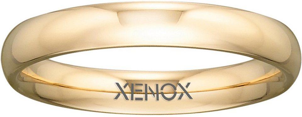 XENOX Partnerring »X2306« in goldfarben