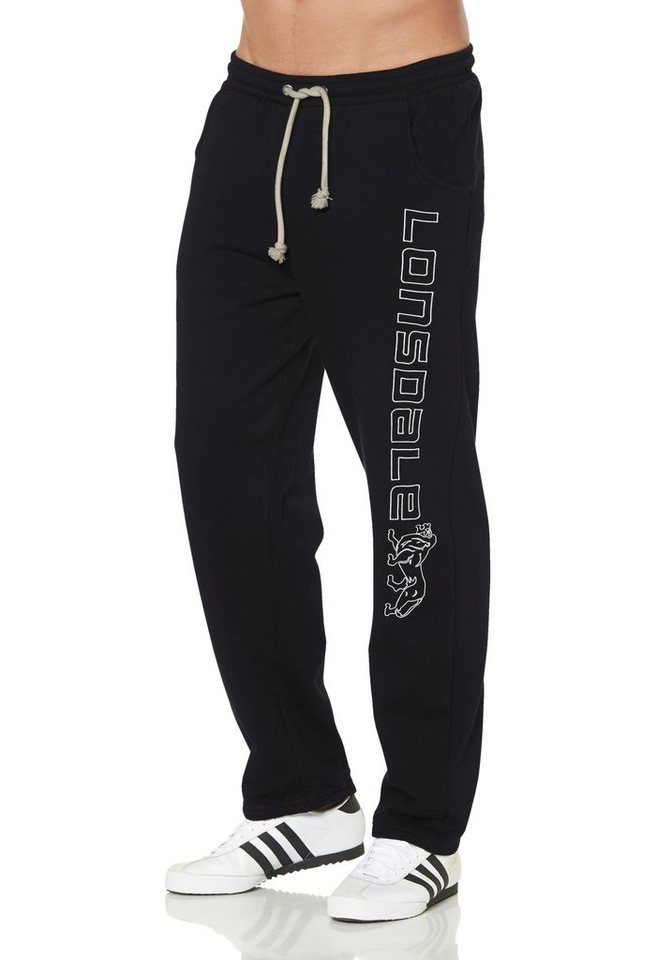Lonsdale Jogginghose »Jogging Pants STONEFIELD« in schwarz
