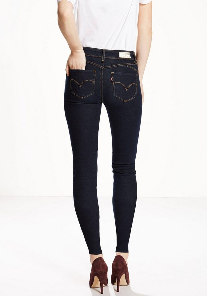 Levi's® Stretch-Jeans Revel Demi Curve Skinny in darkblue