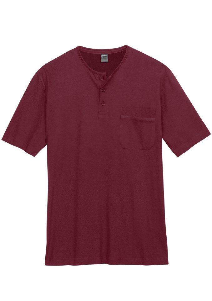 Shirt in dunkelrot