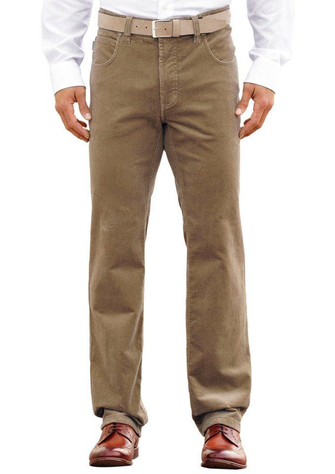 Pionier Hose in komfortabler Cord-Qualität in beige