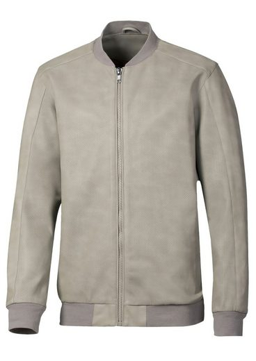 Catamaran Blouson in feiner Leder-Optik