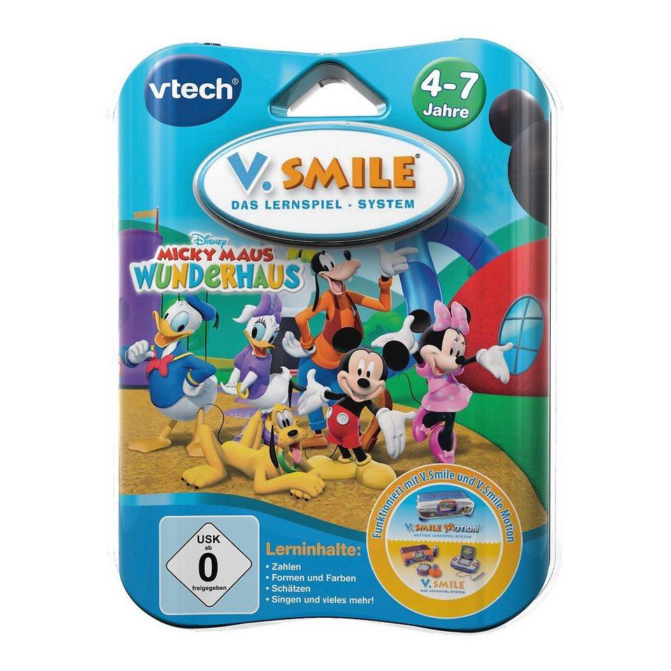 "Vtech V.Smile Lernspiel ""Micky Maus Wunderhaus"""
