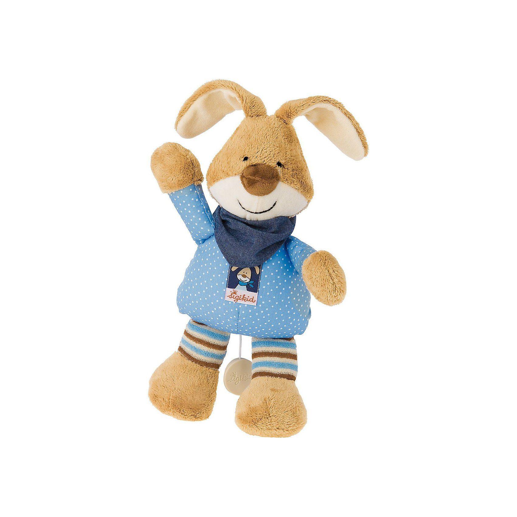 sigikid Semmel Bunny Spieluhr, 30 cm