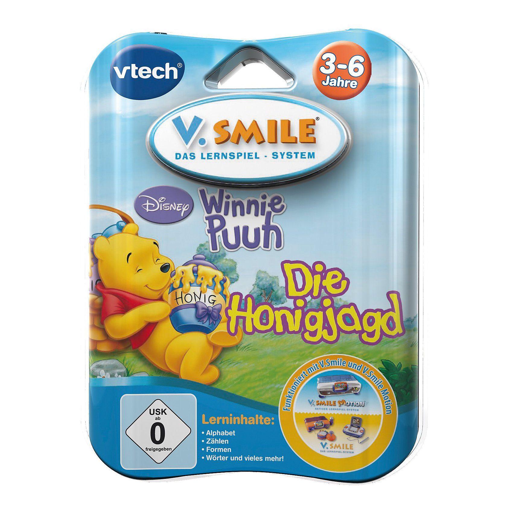 "Vtech V.Smile Lernspiel ""Winnie Puuh"""