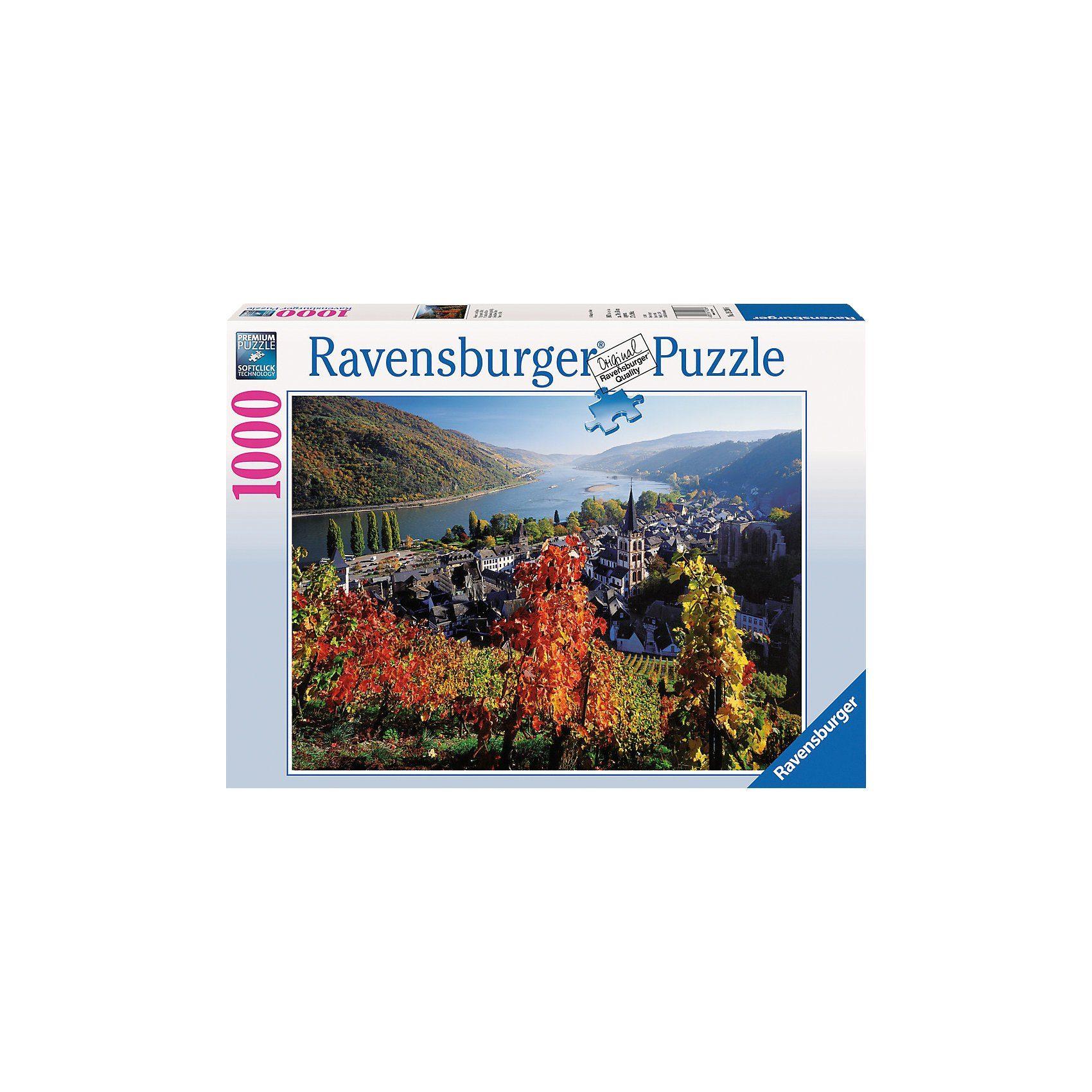 Ravensburger Weinreben am Rhein - 1000 Teile Puzzle