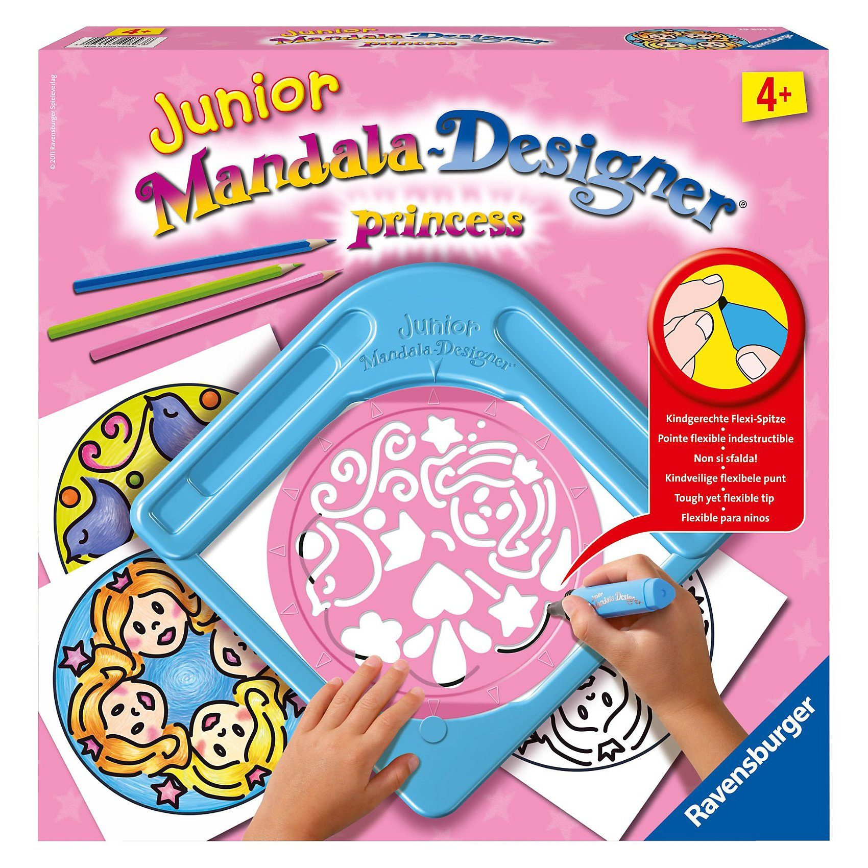 Ravensburger Princess - Junior Mandala Designer