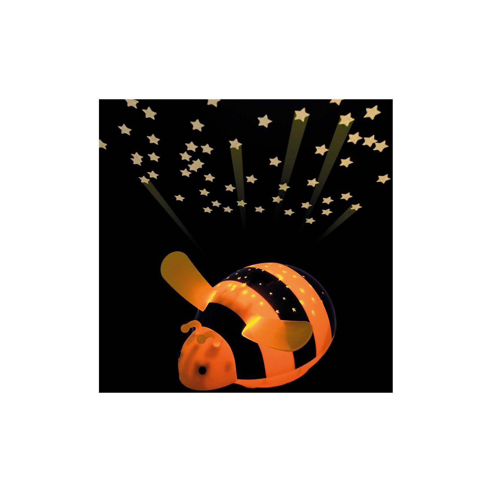 NIERMANN Nachtlicht Biene, LED Sternenlicht mit Farbwechsler