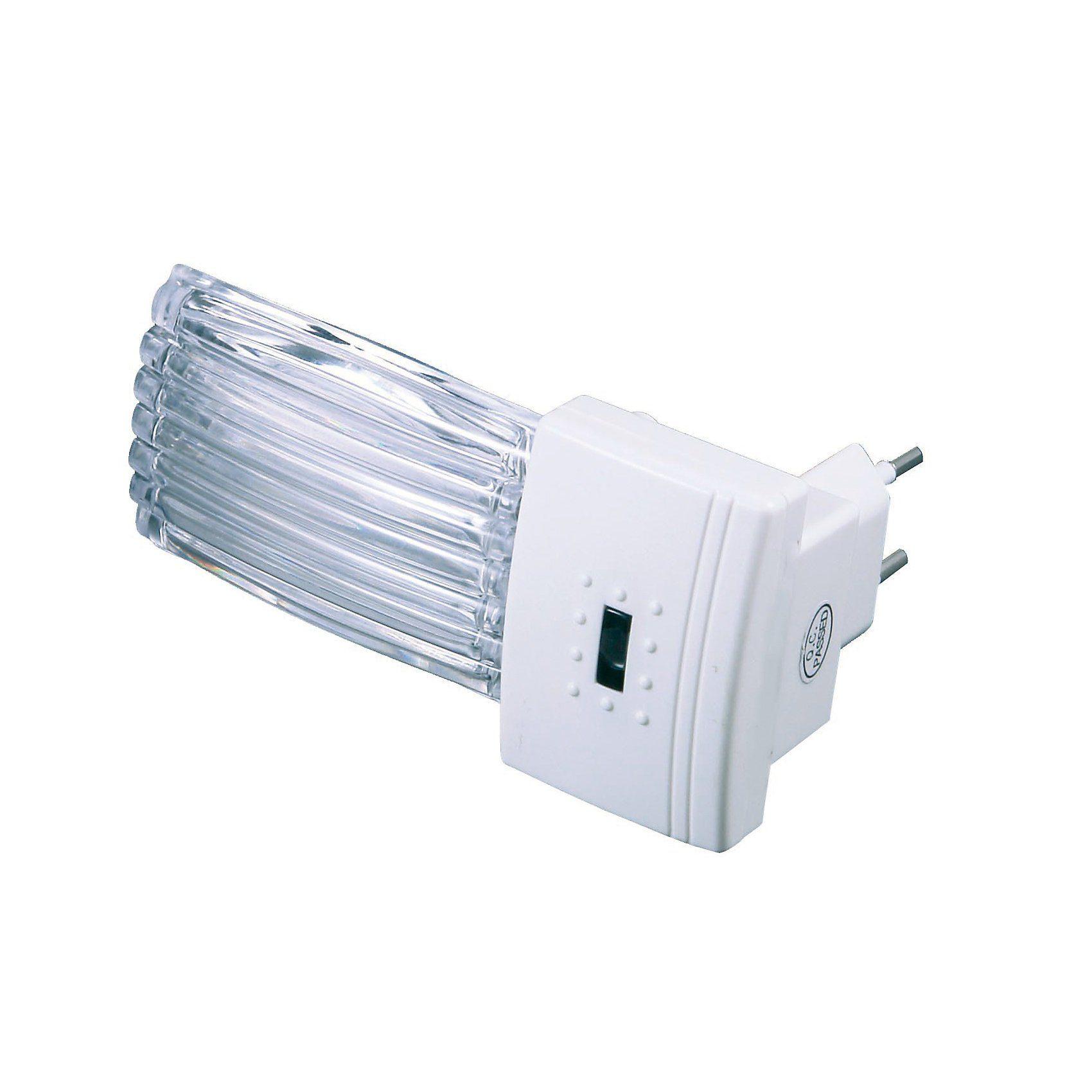 NIERMANN LED Nachtlicht Riffel, mit Dämmerungsautomatik
