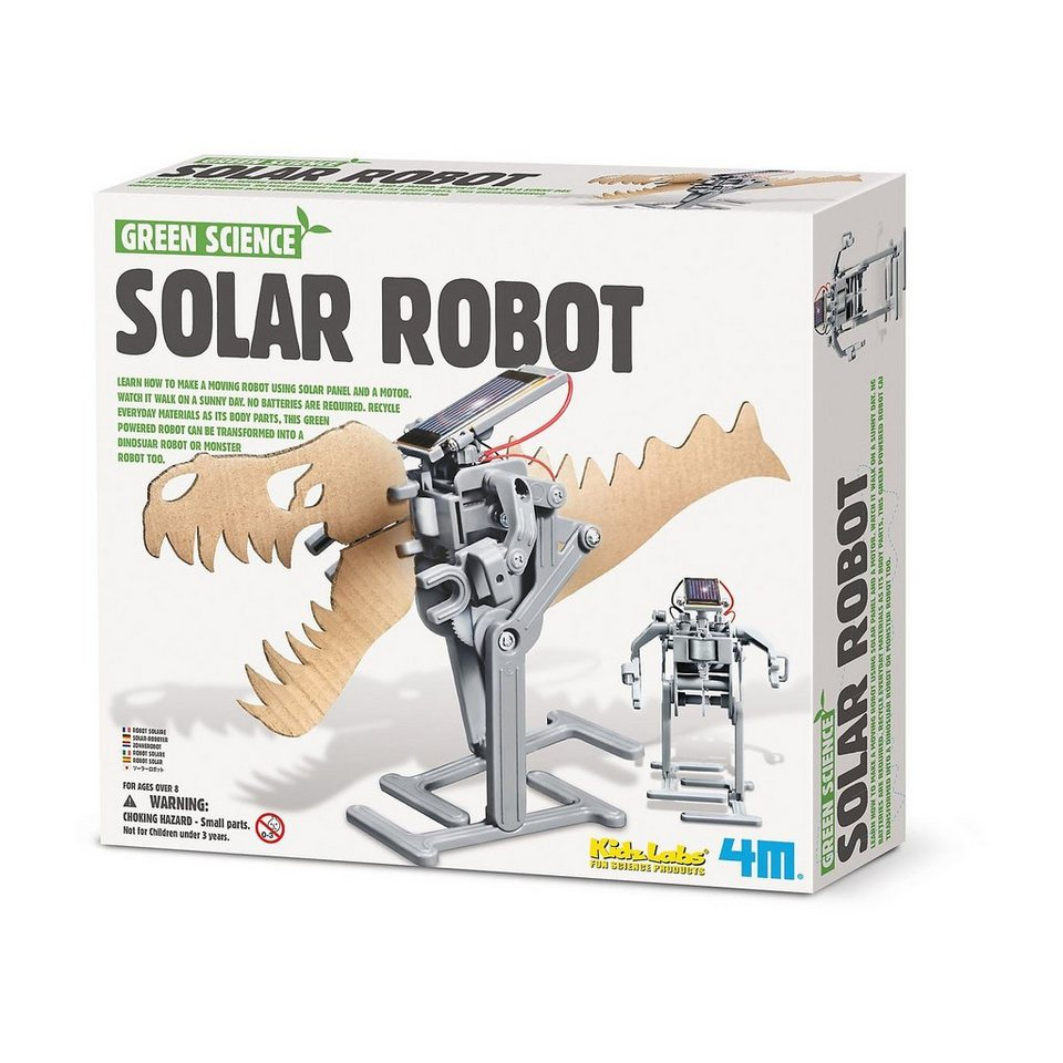 Greene Science Solarexperimente Solar Robot