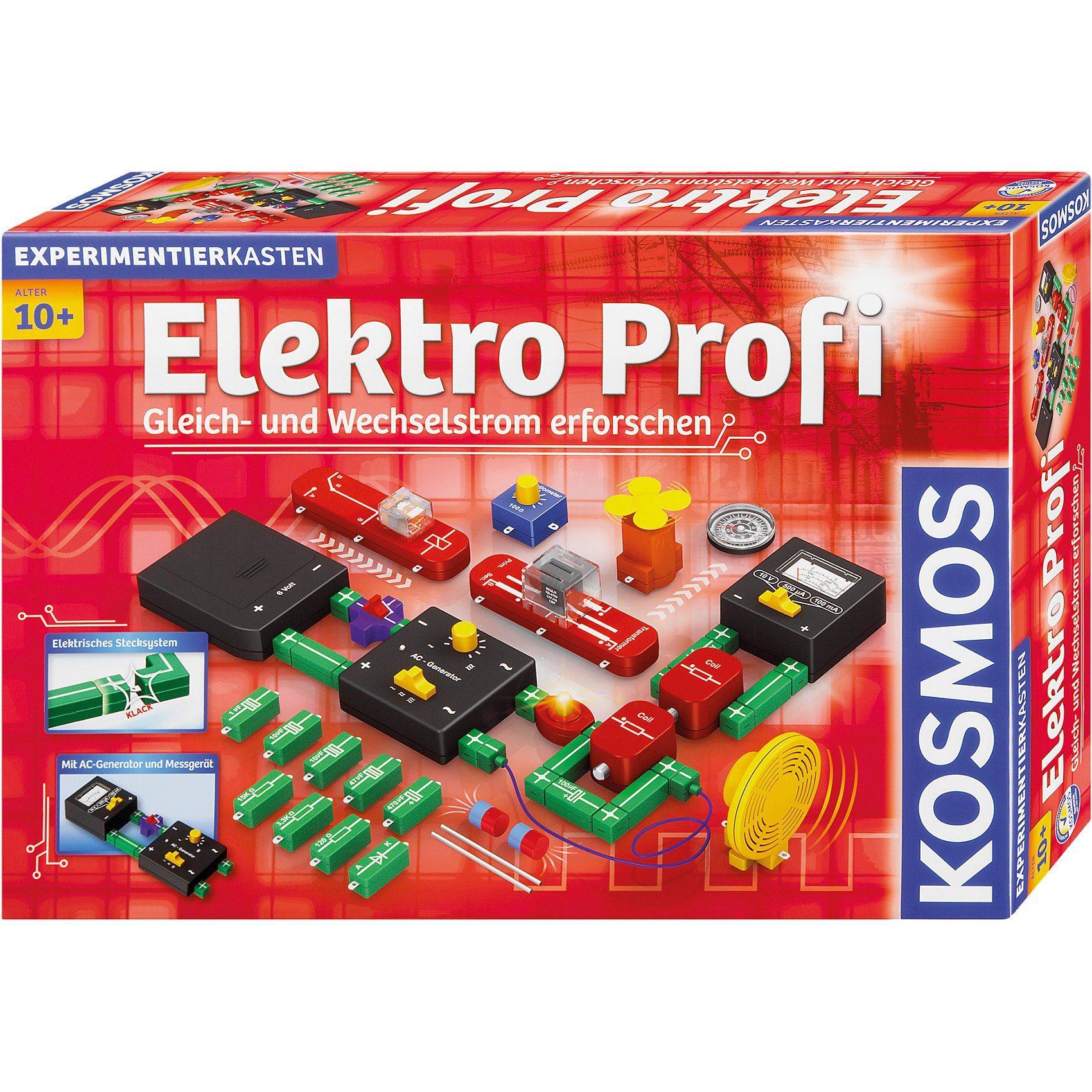 Kosmos Experimentierkasten Elektro Profi