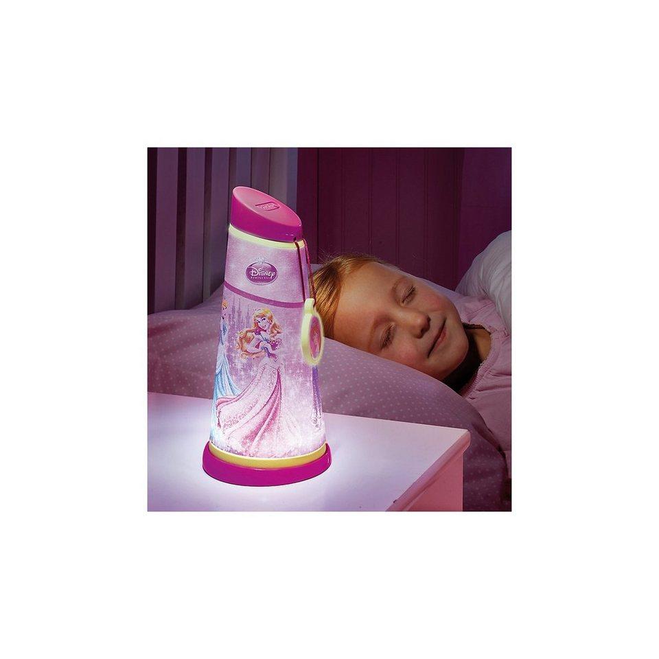 WORLDS APART Nachtlicht und Taschenlampe, Disney Princess in rosa