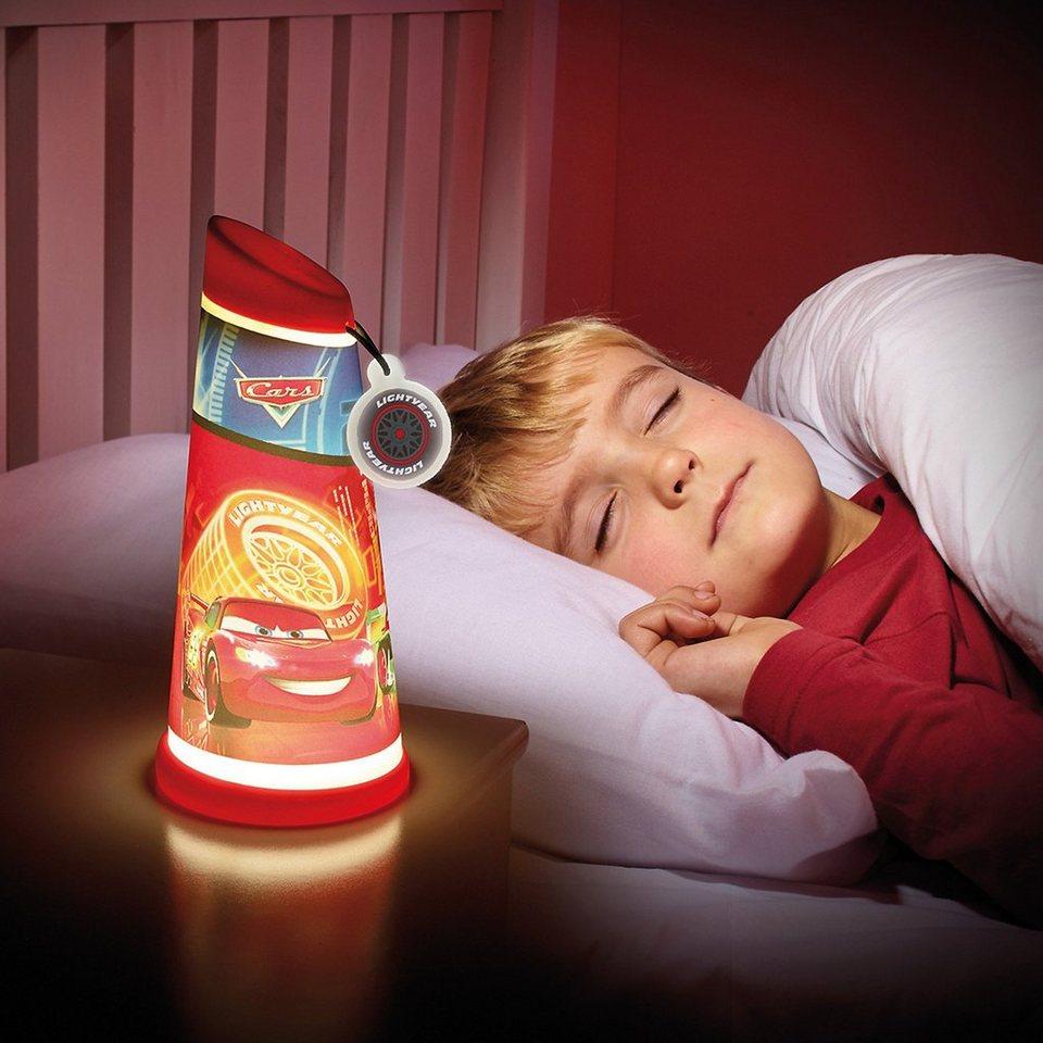 WORLDS APART Nachtlicht und Taschenlampe, Cars in rot