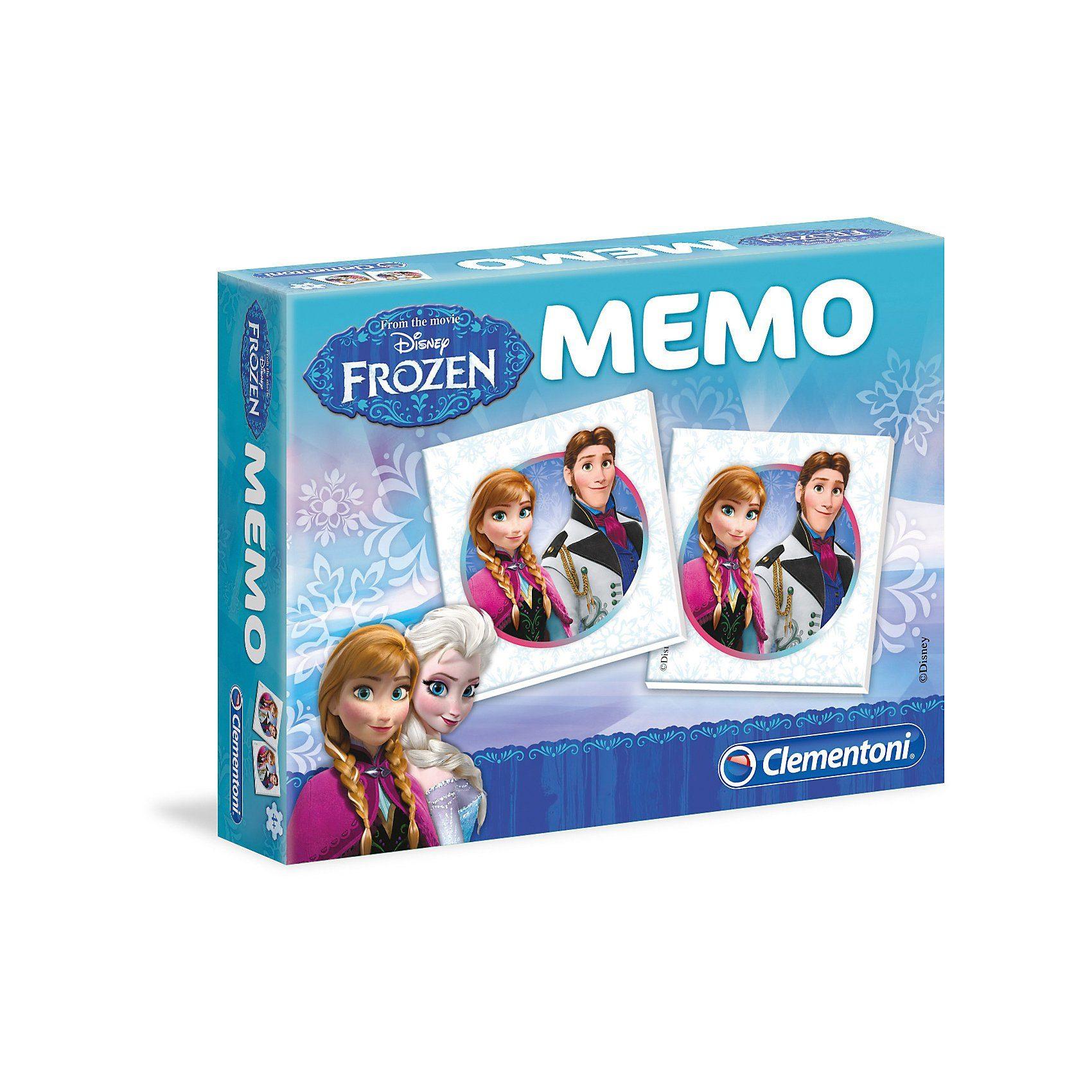 Clementoni® Memo Kompakt - Die Eiskönigin