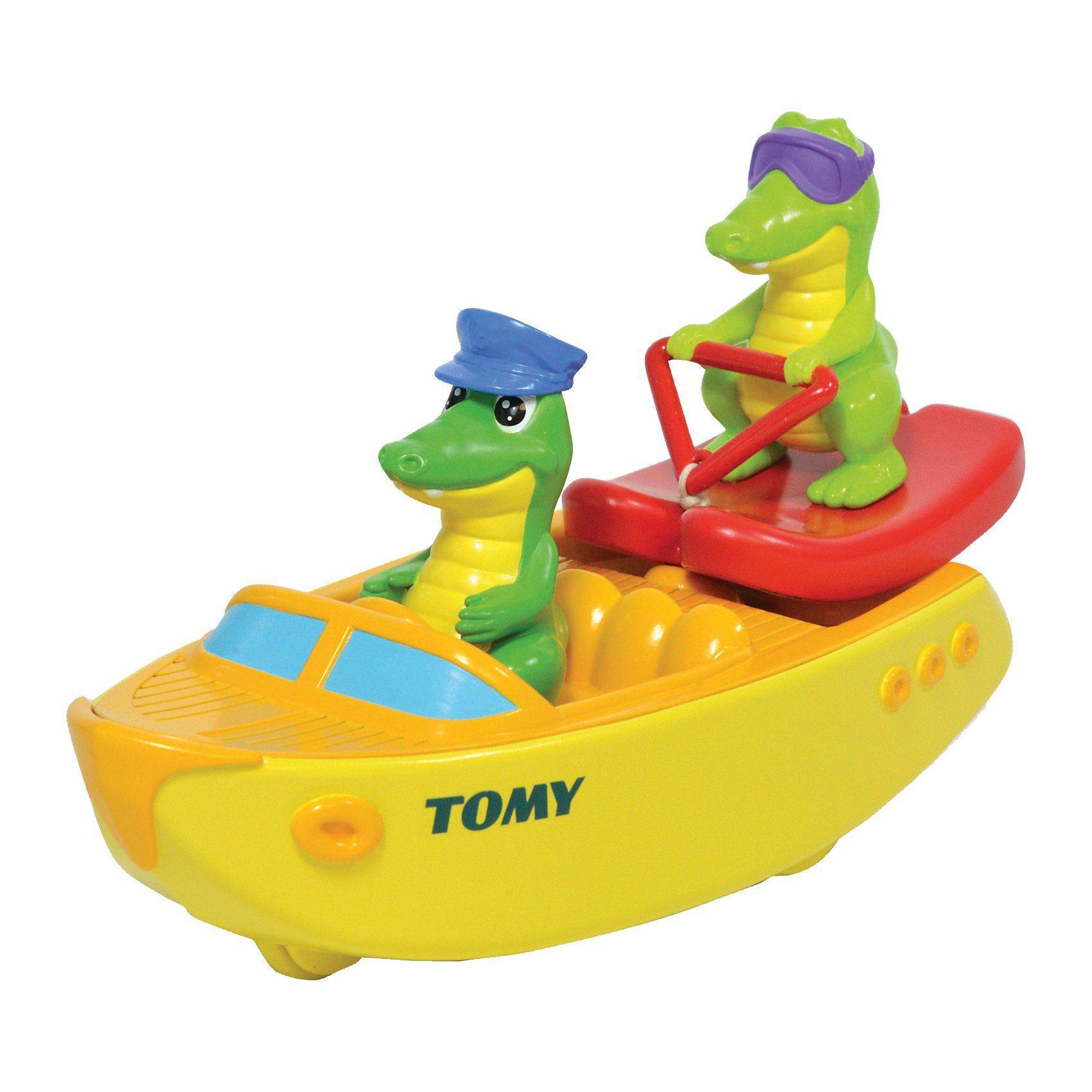 TOMY Badespielzeug - Ski Boot Krokos