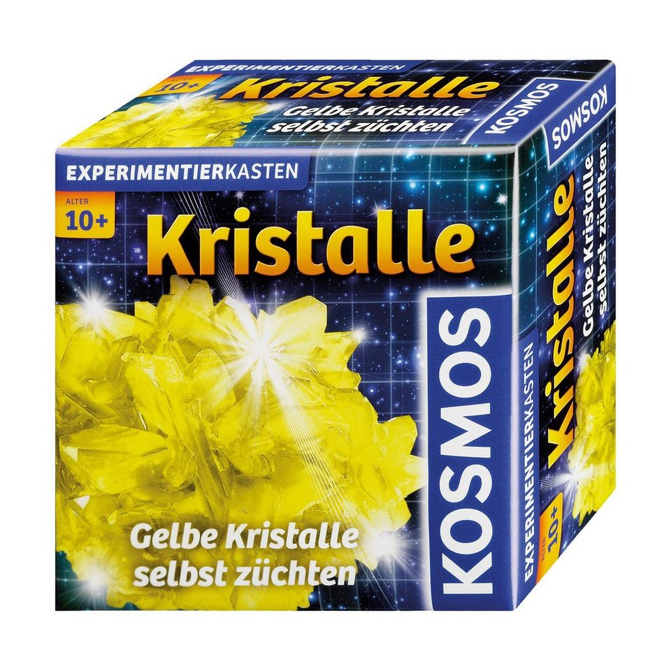 Kosmos Gelbe Kristalle selbst züchten
