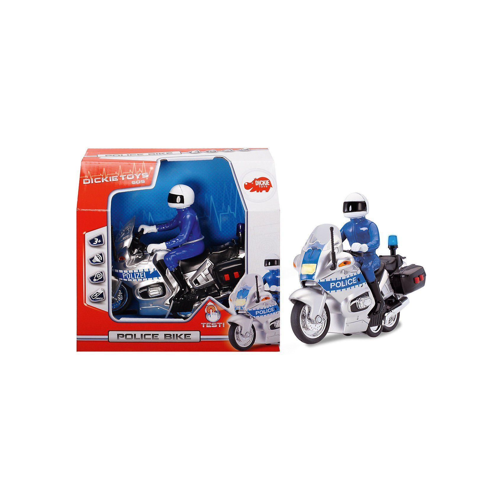 Dickie Toys Dickie Polizei Motorrad