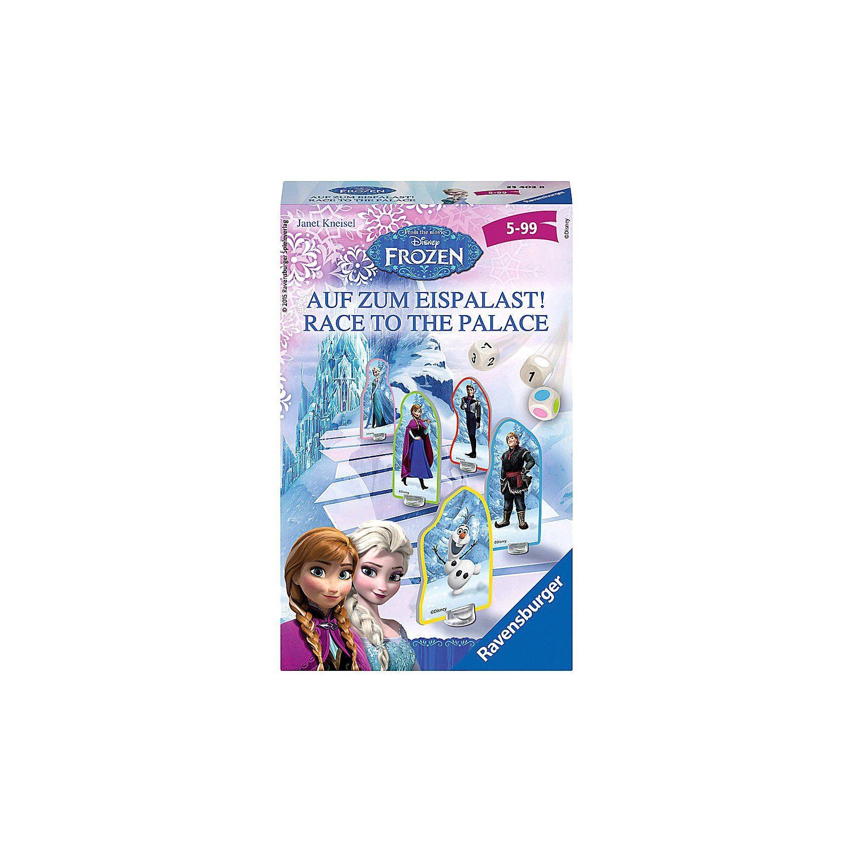 Ravensburger Mitbringspiel Disney Die Eiskönigin: Auf zum Eispalast