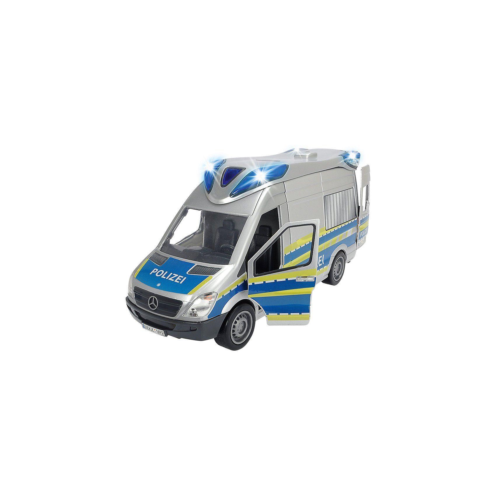 Dickie Toys Emergency Van Polizei
