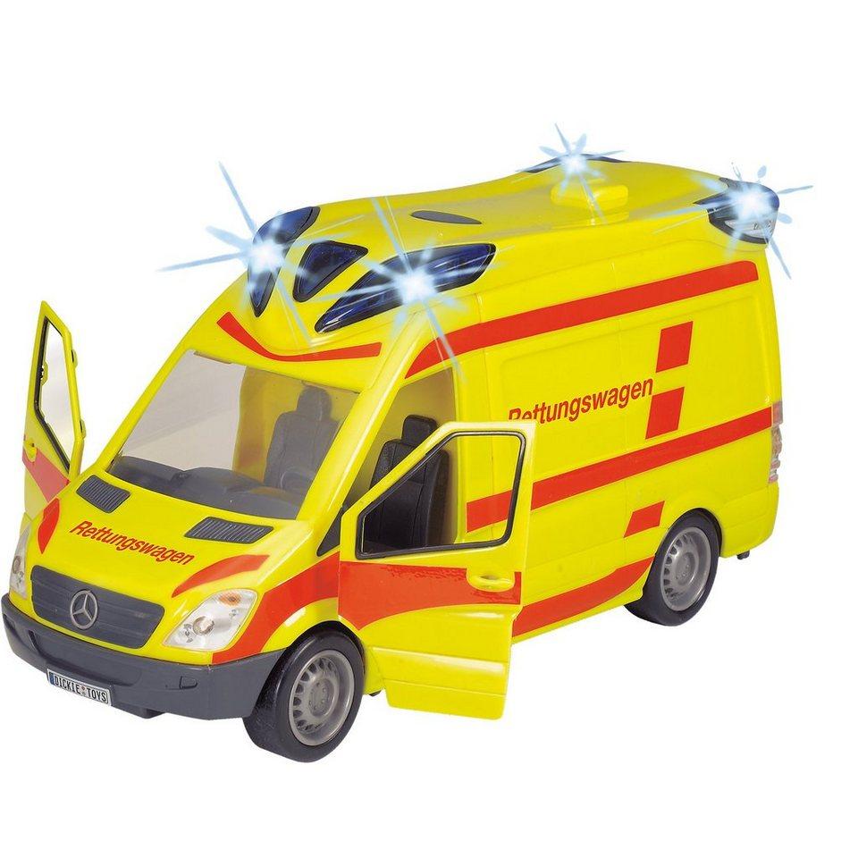Dickie Toys Emergency Van Krankenwagen