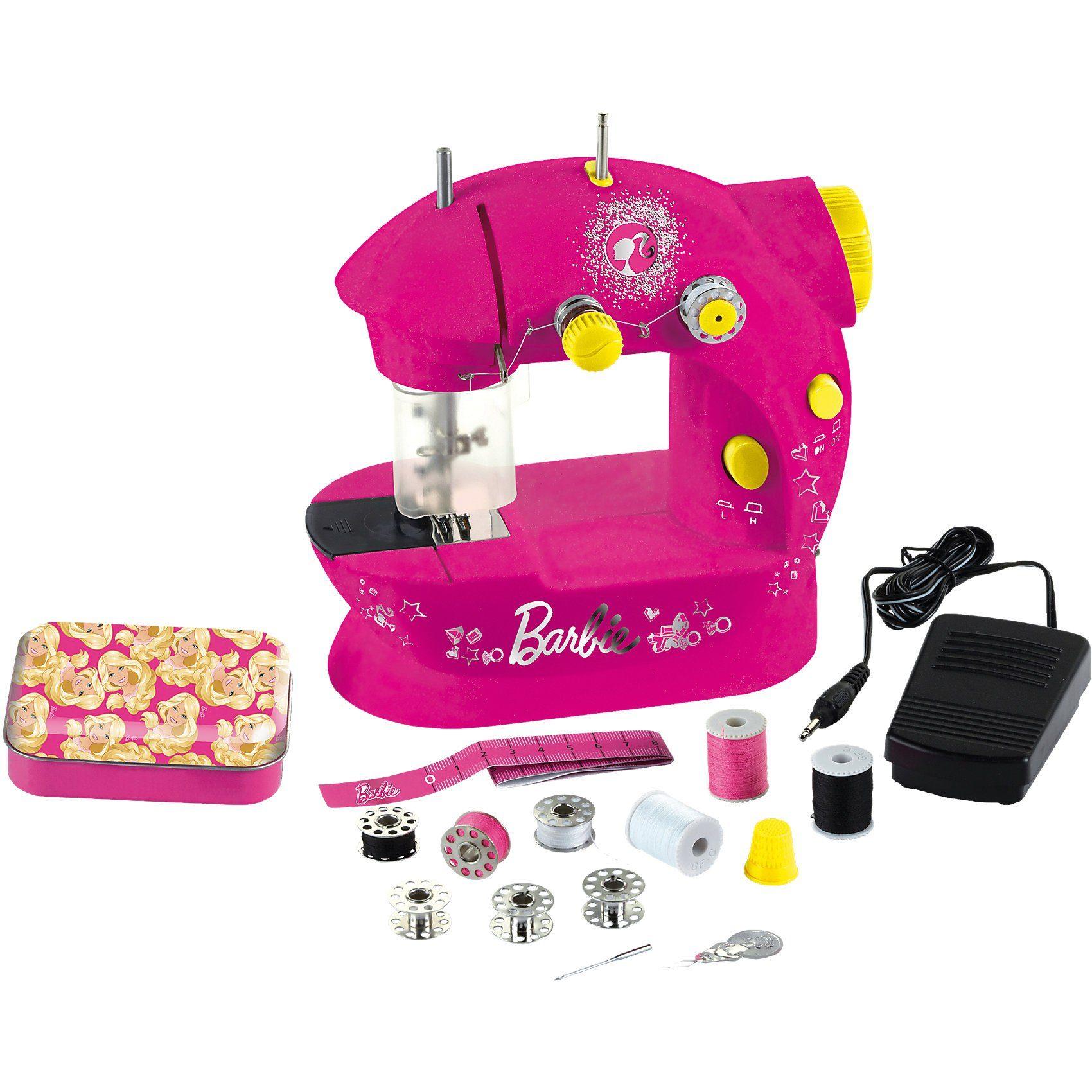 Klein Barbie Kinder-Nähmaschine