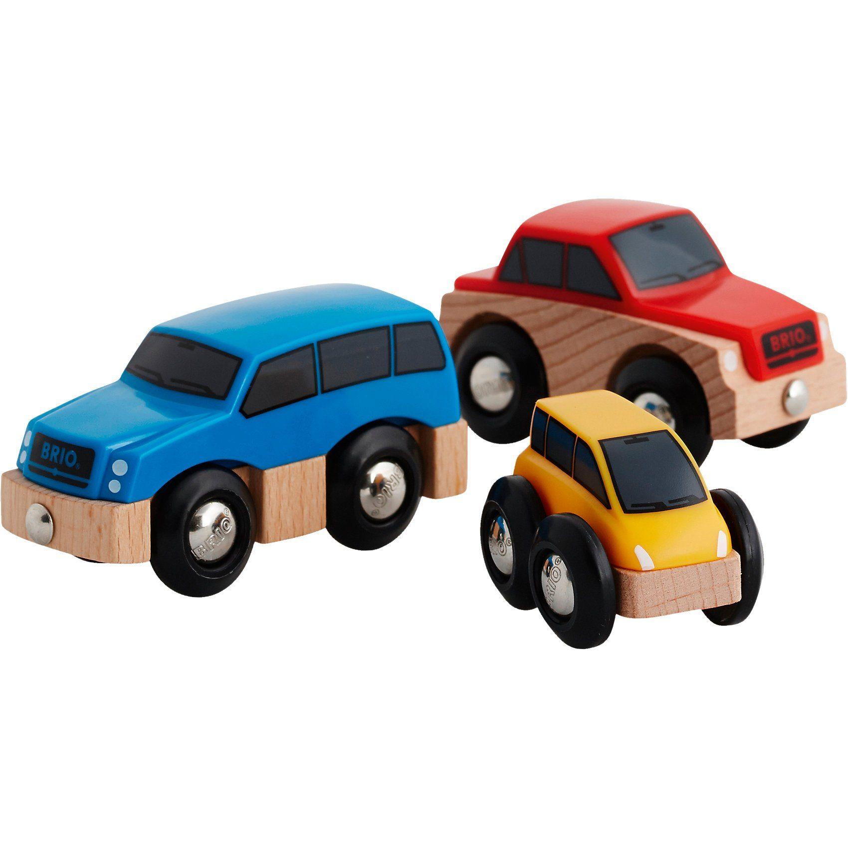 BRIO Autos, 3teilig