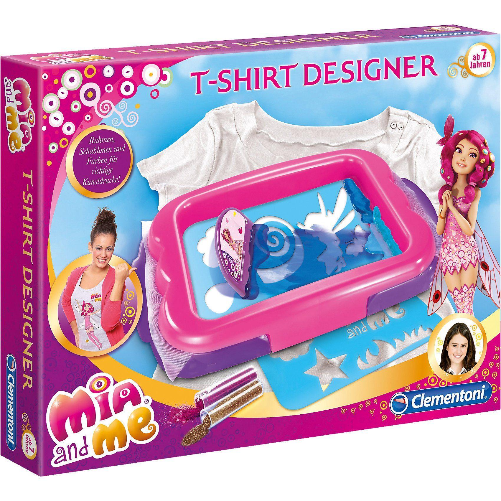 Clementoni Mia & Me - T-Shirt Designer