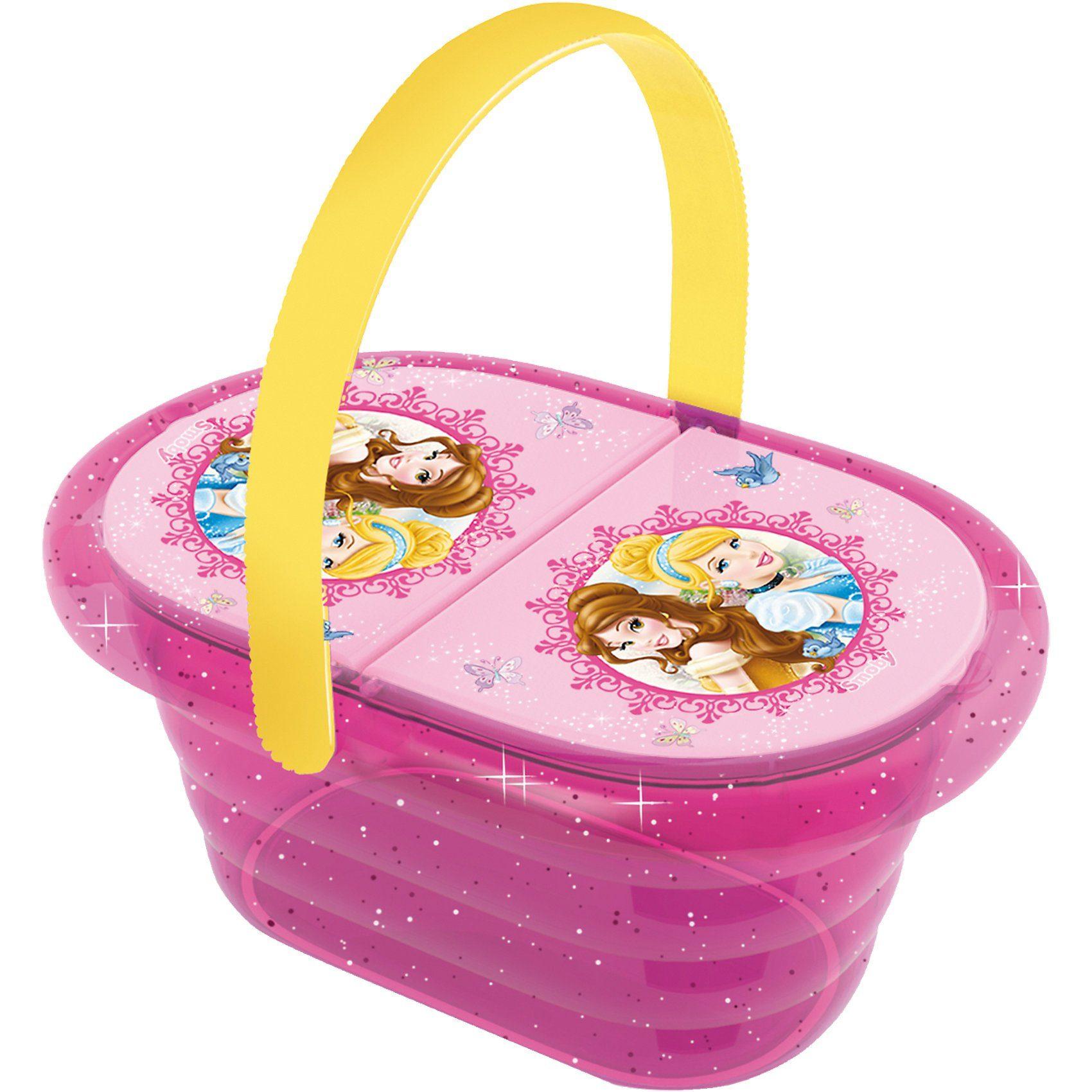 Smoby Disney Princess Picknick-Korb mit Spielgeschirr