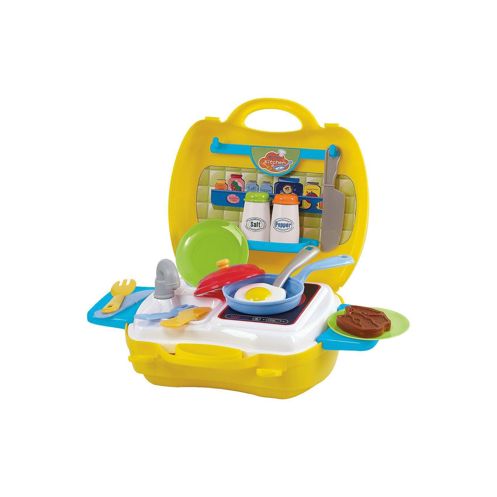 Playgo Mitbring-SpielKüche, 22 Teile