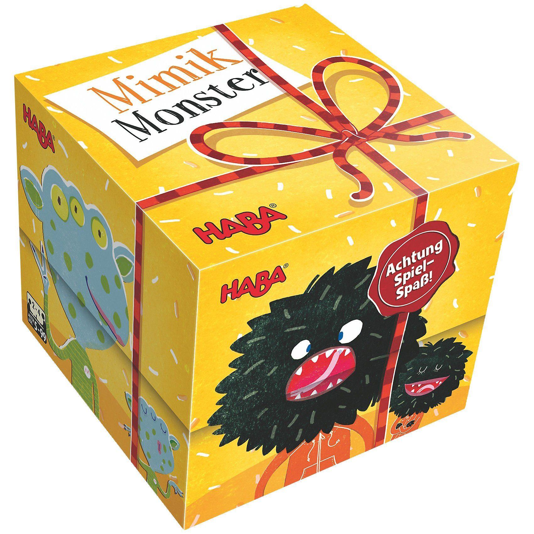 Haba Geschenkwürfel - Mimikmonster