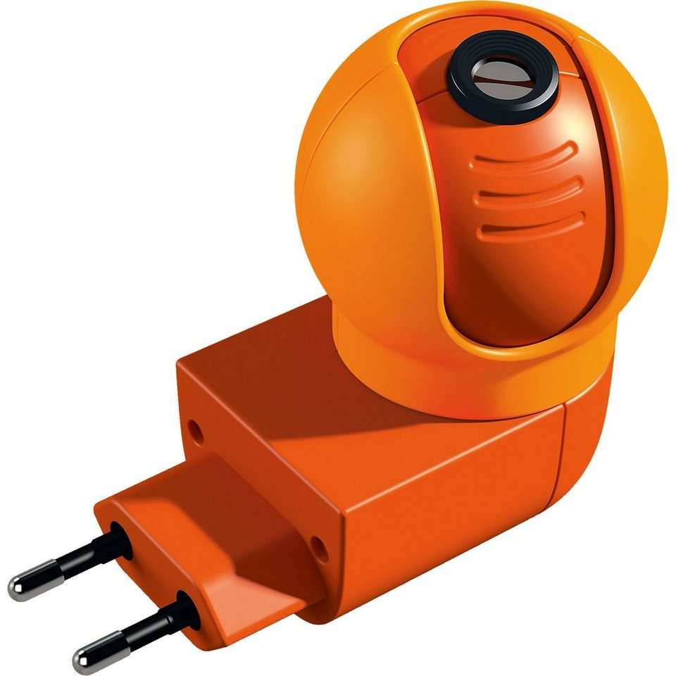 Haba Steckdosenlicht mit Projektor, Gute-Nacht-Maus in orange