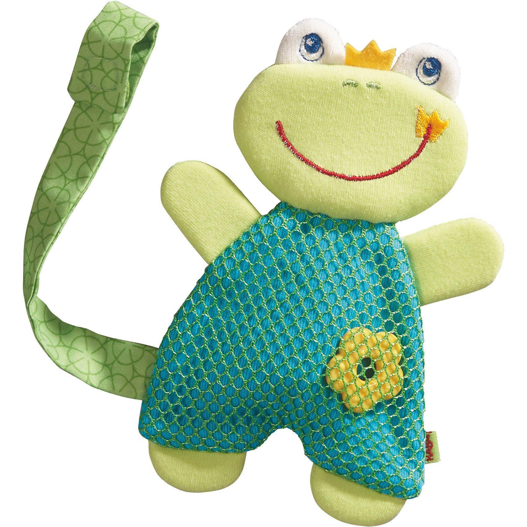 Haba Schmusetuch Frosch (Mit Schnullerhalter)
