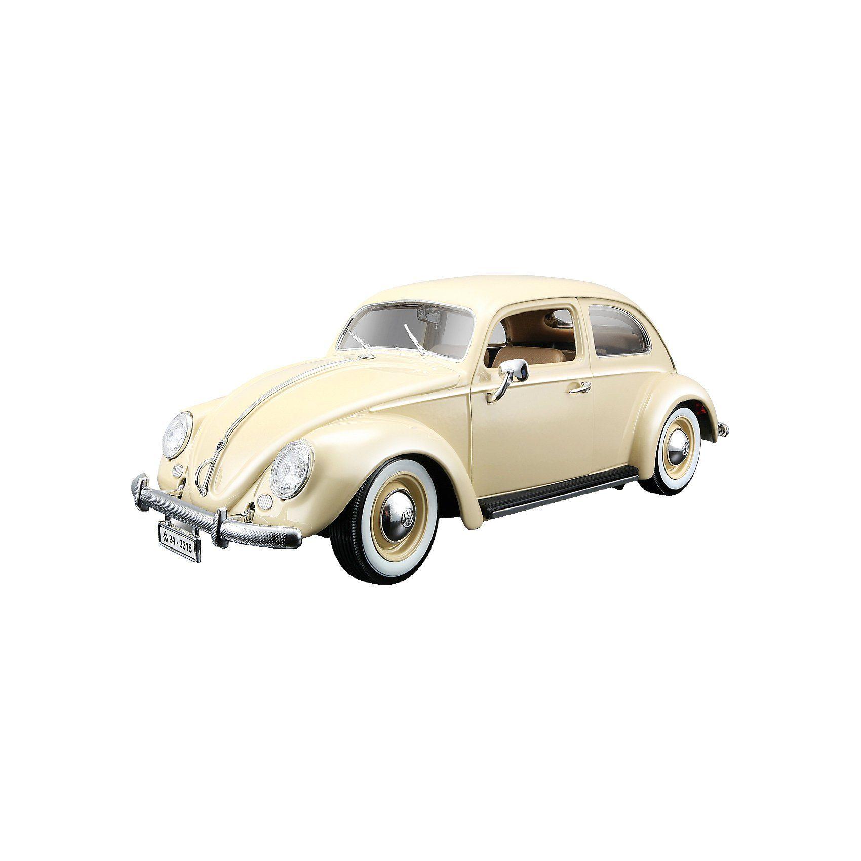 Bburago VW Käfer (1955), beige