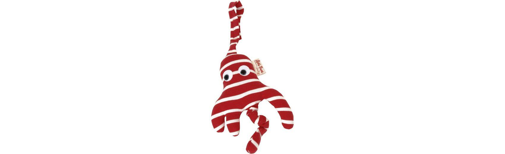 Käthe Kruse Kindersitzanhänger Octopussi rot 17 cm