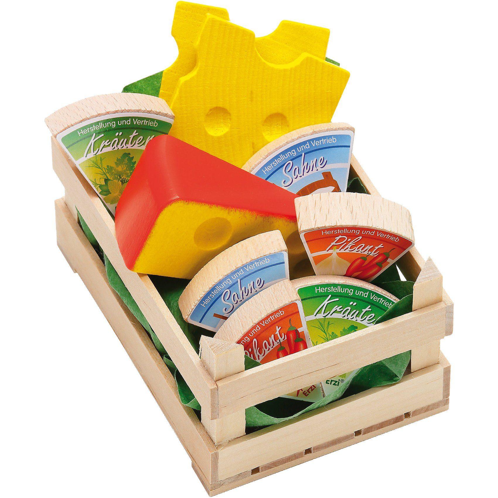 ERZI Spiellebensmittel Sortiment Käse